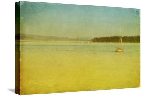 Sailing-Roberta Murray-Stretched Canvas Print