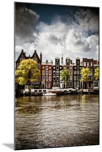 Amsterdam Canal I-Erin Berzel-Mounted Photographic Print