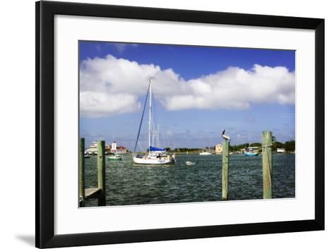 Ocracoke Anchorage II-Alan Hausenflock-Framed Art Print