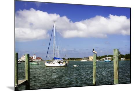 Ocracoke Anchorage II-Alan Hausenflock-Mounted Photographic Print