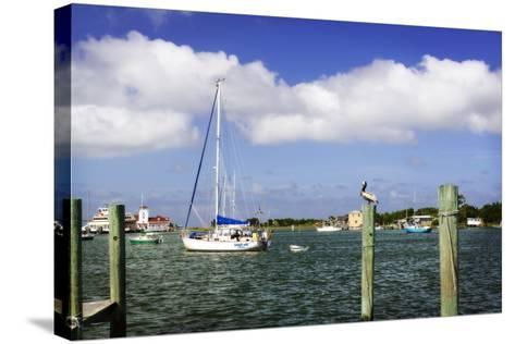 Ocracoke Anchorage II-Alan Hausenflock-Stretched Canvas Print