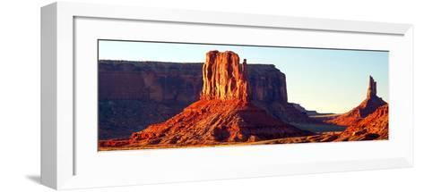 Monument Valley at Sunset-Douglas Taylor-Framed Art Print