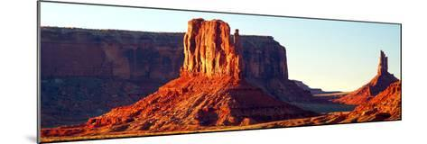 Monument Valley at Sunset-Douglas Taylor-Mounted Art Print