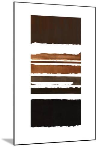 Stripes-Sammy Sheler-Mounted Art Print