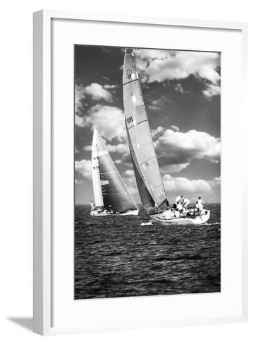 Coming and Going BW-Alan Hausenflock-Framed Art Print