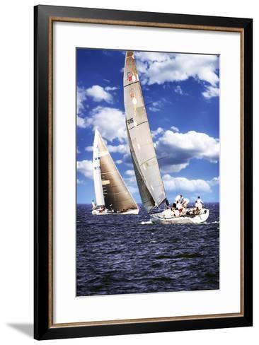 Comin and Going-Alan Hausenflock-Framed Art Print