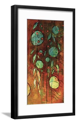 Rusty Space Jungle-BJ Lantz-Framed Art Print