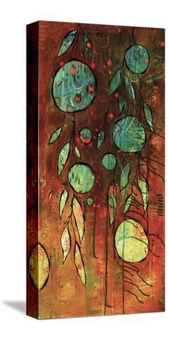 Rusty Space Jungle-BJ Lantz-Stretched Canvas Print