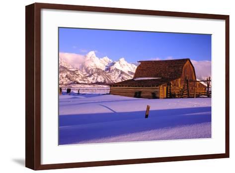 Grand Teton National Park XVIII-Ike Leahy-Framed Art Print