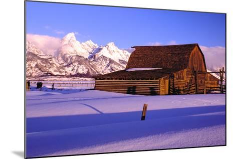 Grand Teton National Park XVIII-Ike Leahy-Mounted Photographic Print