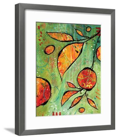 Orange is Happy-BJ Lantz-Framed Art Print