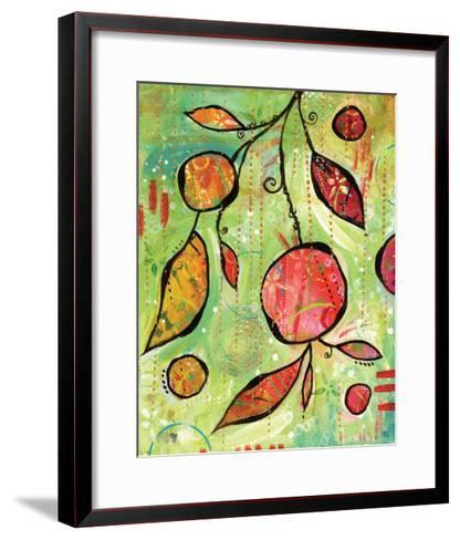 Happy Pink Dance-BJ Lantz-Framed Art Print