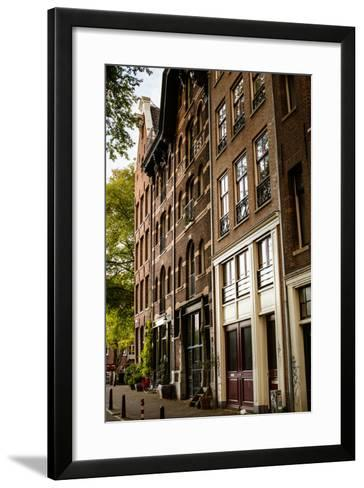 Amsterdam Neighborhood II-Erin Berzel-Framed Art Print