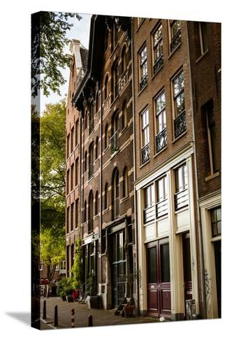 Amsterdam Neighborhood II-Erin Berzel-Stretched Canvas Print