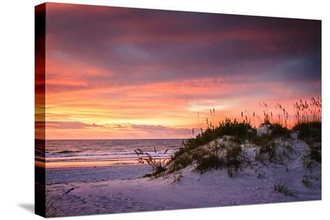 September Sunrise V-Alan Hausenflock-Stretched Canvas Print
