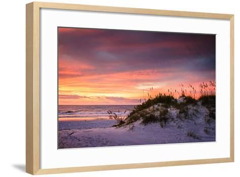 September Sunrise V-Alan Hausenflock-Framed Art Print