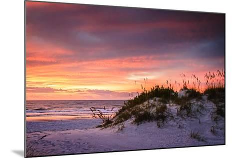 September Sunrise V-Alan Hausenflock-Mounted Photographic Print
