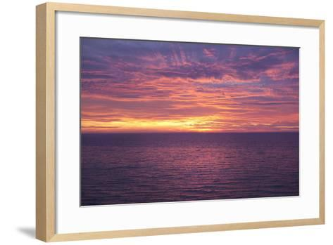 Sunset at Sea-Karyn Millet-Framed Art Print