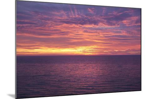 Sunset at Sea-Karyn Millet-Mounted Photographic Print