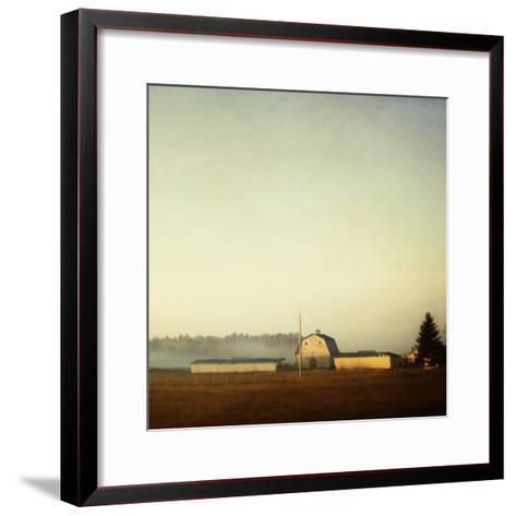 Sun on the Barn-Roberta Murray-Framed Art Print