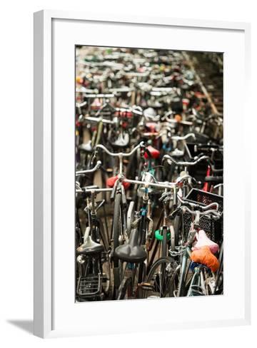 Amsterdam's Fietsflat II-Erin Berzel-Framed Art Print