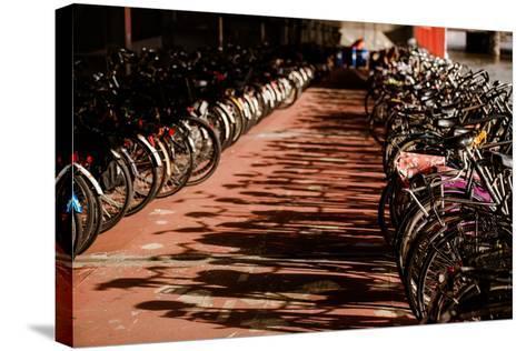 Amsterdam's Fietsflat IV-Erin Berzel-Stretched Canvas Print