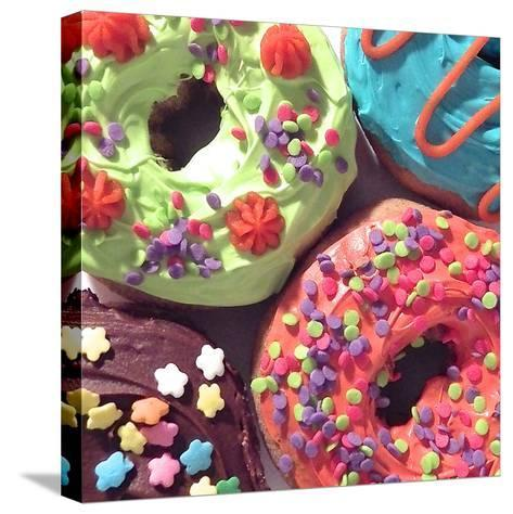 Doughnut Choices I-Monika Burkhart-Stretched Canvas Print