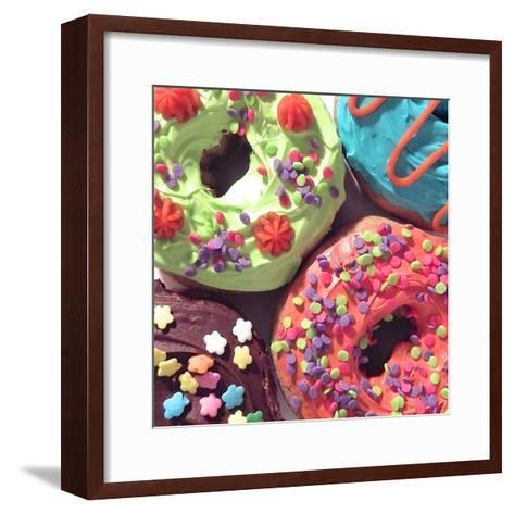 Doughnut Choices I-Monika Burkhart-Framed Art Print