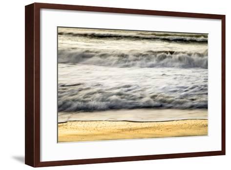 Ocean Sunrise VII-Beth Wold-Framed Art Print