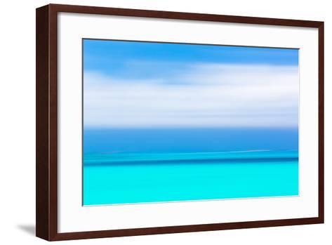 Tropical Abstract IV-Kathy Mahan-Framed Art Print