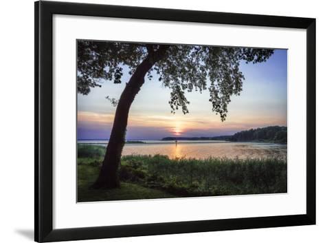 Cobb Island Sunset I-Alan Hausenflock-Framed Art Print