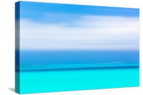 Tropical Abstract IV-Kathy Mahan-Stretched Canvas Print