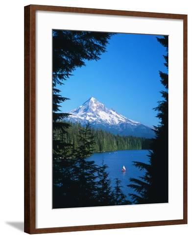Mt. Hood VI-Ike Leahy-Framed Art Print