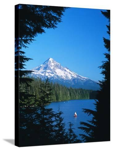 Mt. Hood VI-Ike Leahy-Stretched Canvas Print