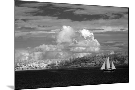 Port Townsend Sailboat I-George Johnson-Mounted Photographic Print