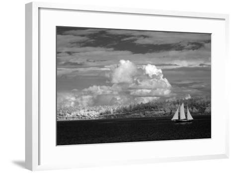 Port Townsend Sailboat I-George Johnson-Framed Art Print
