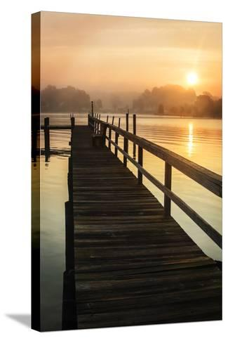 Cobb Island Sunrise II-Alan Hausenflock-Stretched Canvas Print