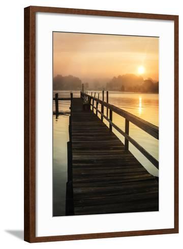 Cobb Island Sunrise II-Alan Hausenflock-Framed Art Print