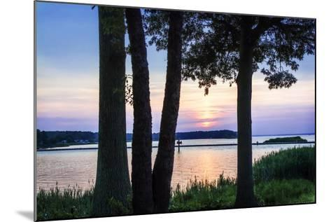 Cobb Island Sunset II-Alan Hausenflock-Mounted Photographic Print
