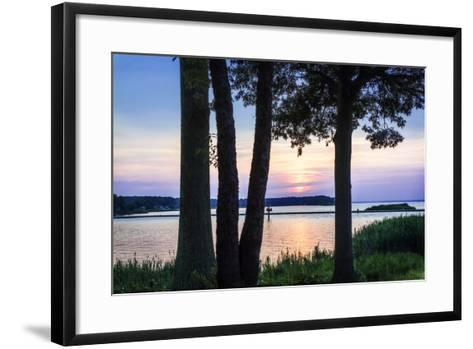 Cobb Island Sunset II-Alan Hausenflock-Framed Art Print