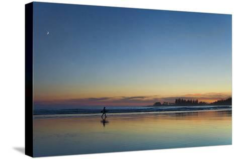 Moon Star Surf-Roberta Murray-Stretched Canvas Print