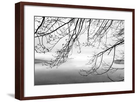 Seabeck Winter II-Kathy Mahan-Framed Art Print