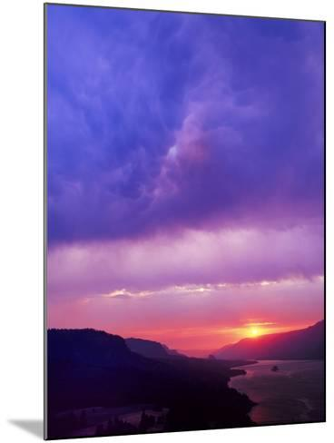 Columbia River Gorge II-Ike Leahy-Mounted Photographic Print