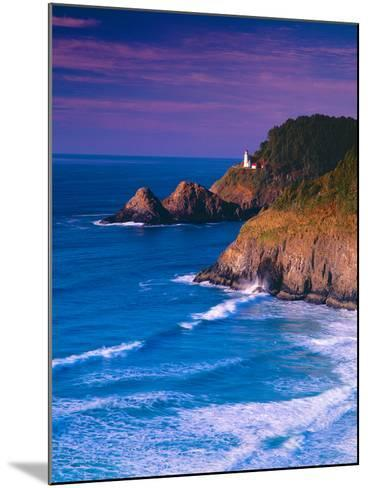 Heceta Head Lighthouse-Ike Leahy-Mounted Photographic Print