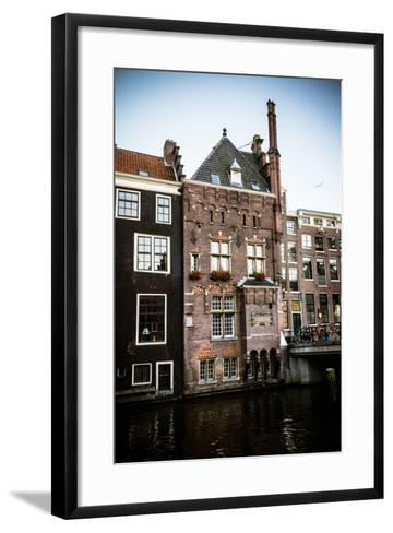 OZ Voorburgwal II-Erin Berzel-Framed Art Print