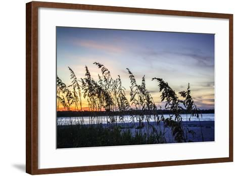 Masonboro Sunset II-Alan Hausenflock-Framed Art Print