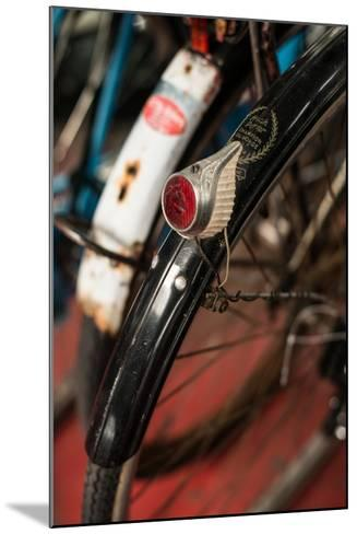 Dutch Bike Detail-Erin Berzel-Mounted Photographic Print