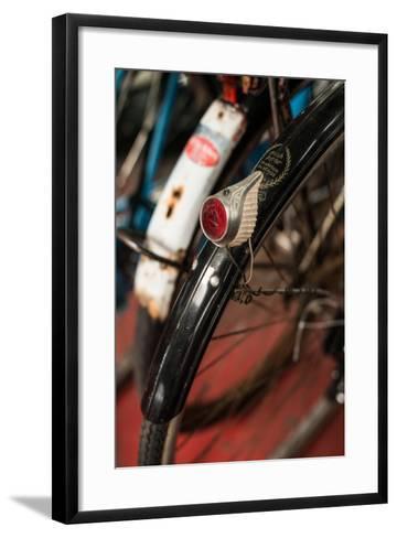 Dutch Bike Detail-Erin Berzel-Framed Art Print
