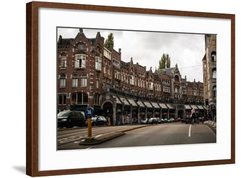Herengracht and Raadhuisstraat-Erin Berzel-Framed Art Print