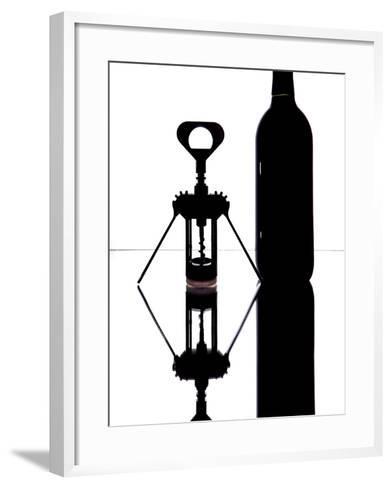 Wine Reflections I-Monika Burkhart-Framed Art Print